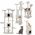 "36 52 72 80"" Cat Tree Tower Condo Furniture Scratcher Post Pet House Play toys"