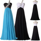 Long Formal Club Party Gown Cocktail Evening Beaded Bridesmaid Dress Size 2~16