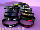 NIKE JUST DO IT 3D Silicone Wristband Bracelet Baller Band Air Jordan Basketball
