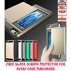 New Apple iPhone 5 5s 6 6s Plus Hybrid Shockproof Case Protector Cover Slim