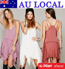 Chic Summer Beach Holiday Cocktail Party Beach Prom Festival Peasant Short Dress