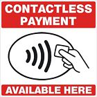 CONTACTLESS PAYMENT sticker Printed UV Laminated Food Sticker Cafe, Resturant