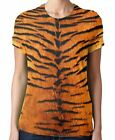 Tiger Skin Pattern All Over Print 3D Women's T-Shirt - Sizes Small to XL