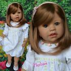 "Masterpiece Doll Sunday's Child Brunette by Monika Levenig, 29"" IN STOCK"