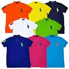 Polo Ralph Lauren Mens Big Pony Custom Fit Short Sleeve Mesh Polo Shirt New Nwt