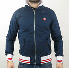 Superdry Giacca PREP HARRINGTON MS5GR165 93N Imperial Blu Navy - scuro + nuovo