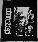 """Defiance - EP's Of Defiance (EP Cover) - Back Patch 15 x 13"""" / New (Black) Punk"""
