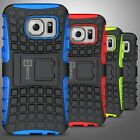 For Samsung Galaxy S7 Case Hard Protective Hard & Soft Kickstand Phone Cover