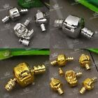 5/20PC Silvery/Golden Love Clip Clasp Link Connector Fit Charm Bracelet Jewelry