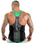 Strong Liftwear Elite Meshtech T Back Singlet Multi-Colored CoolTech Cotton Mesh