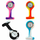 BOXX COLOURED RUBBER SILICONE UNISEX NURSES INFECTION CONTROL FOB WATCH image