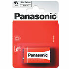 Panasonic Zinc Carbon Battery 9v  - Choose Amount