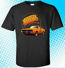 NEW THE DUKES OF HAZZARD Classic Retro TV Show Men's Black T-Shirt Size S to 3XL image