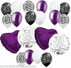 Swirls Hearts DAMASK Bouquet YOU CHOOSE COLOR 20pc Bridal Wedding FREE SHIP