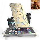Cool Thor Iron Body All Metal Back Case Frame Cover for Apple iPhone 6 /6S Plus