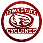 IOWA STATE CYCLONES Steel Scenic Art Wall Design