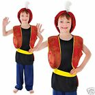 Boys Kids Arabian Alibaba Genie Aladdin World Book Week Fancy Dress Costume 4-14