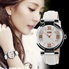SKMEI Ladies Women's Fashion Casual Leather Analog Quartz Wrist Watch Waterproof