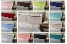 Bamboo Egyptian Comfort 1800 Series Striped 6 Piece Sheet Set Bedroom Sheets New image