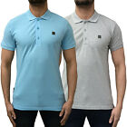 Mens Voi Jeans Polo Shirt Designer Branded Pique Top Collared Smart Tee T BNWT