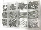 300pcs M5 STAINLESS BUTTON FLANGED HEAD ALLEN BOLTS KIT 10 12 16 20 25 30 35 40