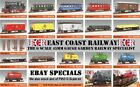 G SCALE 45mm GAUGE GARDEN RAILWAY RC LOCO CARRIAGE BOX FLATBED TRUCK COACH TRAIN for sale  Shipping to Ireland