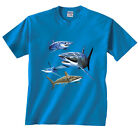 Shark Tiger Blue Sharks Hammerhead Mako Blacktip Lemon Bonnehead T-Shirt