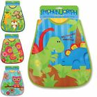 Stephen Joseph Boys Girls Wipeable Baby Bibs Crumb Catcher New
