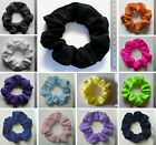 ONE SCRUNCHIE - Lycra or Stretch *CHOOSE FROM WIDE SELECTION* *MADE IN UK*