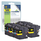 16 Compatibile con Brother LC127XL/LC125XL Confezione multipla