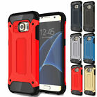 Hybrid Rugged Shockproof Hard Armor Case For Samsung Galaxy S7 S6 Edge + Note 5