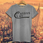 CASSIUS CLAY T shirt MUHAMMAD ALI The Greatest HEAVYWEIGHTS Boxer gym top Tshirt