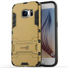 For Samsung Galaxy S7 Phone Case Hard Dual Layer Kickstand Protective Cover