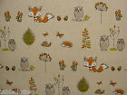 WOODLAND FOX FRYETTS PVC COTTON WIPE CLEAN OILCLOTH TABLECLOTH CO click for size