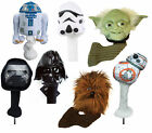 NEW Star Wars Wood / Driver Golf Club Head Cover - Choose From 7 Characters!