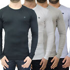 Mens Duck & Cover Long Sleeve T Shirt Designer Branded Jersey Slim Fit Tee Top