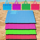 FOLDING BEACH LOUNGER MAT DECK CHAIR SUNBED SAND GRASS YOGA PICNIC RUG GARDEN