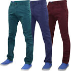 New Mens Kushiro City Chinos 100%  Cotton Trousers Pants Slim Fit Casual Jeans
