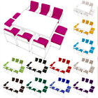 Replacement 16pc Cushion Set For 10 Seater Rattan Garden Furniture Dining Cube