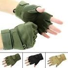 Outdoor Sport Fingerless Military Tactical Airsoft Hunting Riding Game Gloves RV