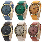 Men's Women's Casual Romal Numerals Fabric Analog Quartz Wrist Watch Cheap New