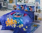 2016 New Disney Lilo & Stitch Bedding Set 4pc for Queen / King Bed Cotton RARE