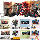 3D The Avengers Super Hero Vinyl Wall Sticker Art Decal Remo
