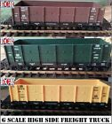 G SCALE 45mm GAUGE HIGH SIDE CARGO FREIGHT ROLLING STOCK RAILWAY TRAIN TRUCK