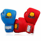 Children Kids Cartoon Boxing Gloves Sparring Punching Fight Training Age 3-12