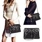 Fashion Women Quilted Shoulder Bag Purse Ladies Handbag Tote Satchel Purse J2T6