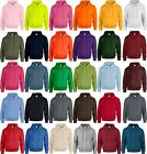 Mens Gildan Hooded Jumper - Soft Feel High Quality - Sizes Small to 5XL