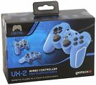 Gioteck VX2 Wired PS3 Conroller - Blue For PAL PS3 (New & Sealed)
