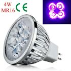 Mini 4W 5W E27 GU10 MR16 UV LED Ultraviolet Spotlight Lamp Bulb AC 85-265V /12