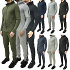 Mens ENTT Tracksuit Set Designer Fleece Jersey Hooded Skinny Slim Joggers Pants
